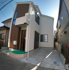 府中市新町3丁目新築分譲住宅完成しました。