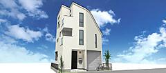 立川市ガレージ付新築分譲住宅の販売を開始しました。